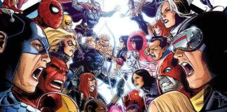X-Men vs Vingadores.