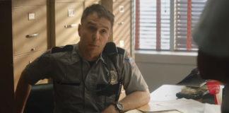 Sam Rockwell em Três Anúncios Para um Crime.