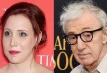 Dylan Farrow e Woody Allen
