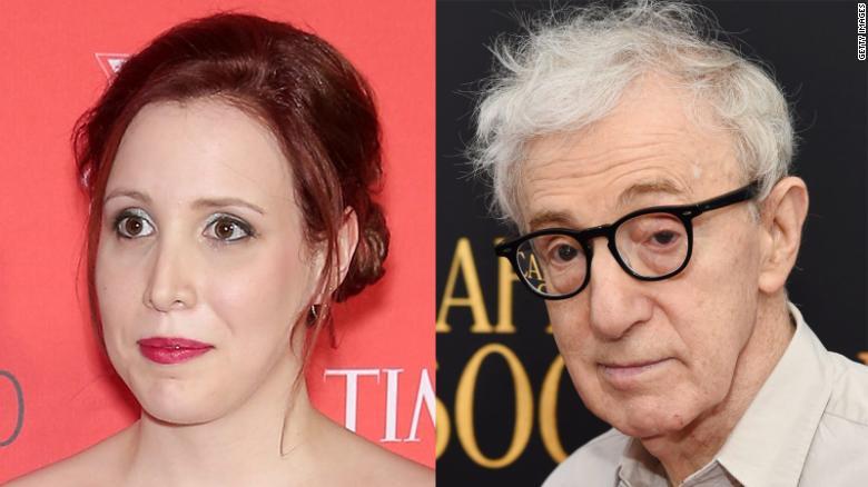 Resultado de imagem para Dylan Farrow and Woody Allen