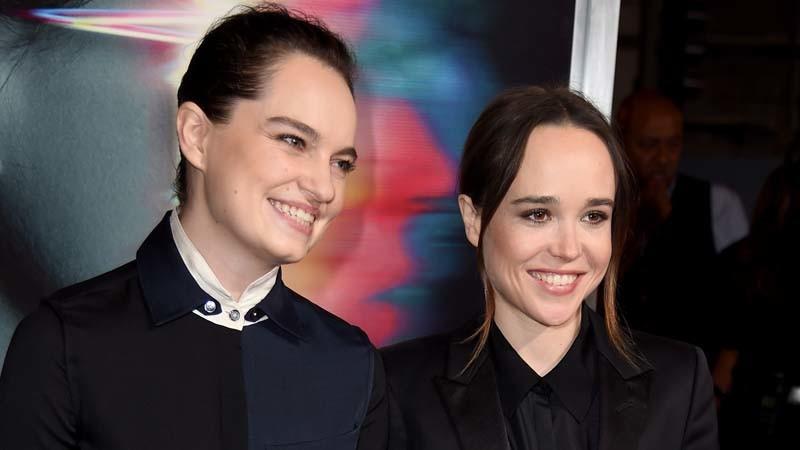 Ellen Page e Emma Portner deram o nó em segredo