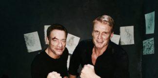Mais uma vez, Jean-Claude Van Damme e Dolph Lundgren.