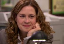 Jenna Fischer como Pam em The Office.