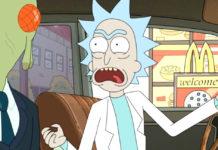 Rick à procura do molho Szechuan em Rick and Morty