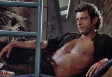 Jeff Goldblum na clássica cena de Jurassic Paark