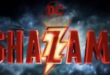 Logo oficial de Shazam!