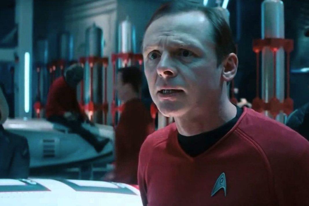 Simon Pegg em Star Trek