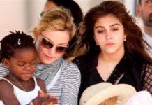 Madonna e suas filhas