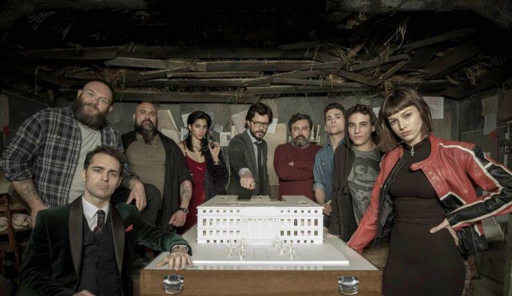 Resultado de imagem para la casa de papel segunda temporada critica