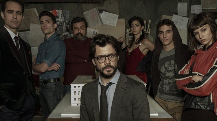 Atores de la casa de papel estrelam nova s rie na netflix - La casa de papel temporada 2 capitulo 1 ...