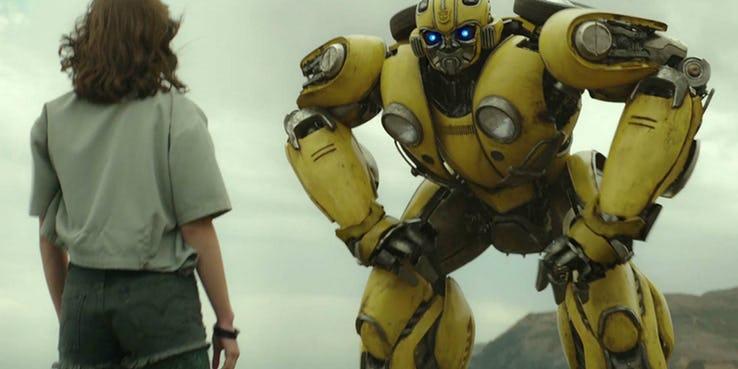 Resultado de imagem para bumblebee filme cenas