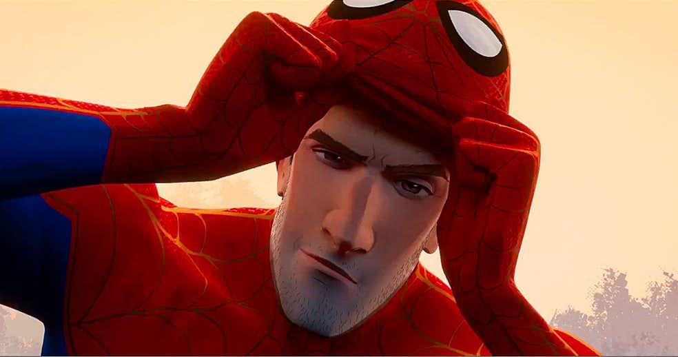 Homem Aranha No Aranhaverso Peter Parker Do Filme Pode Ser