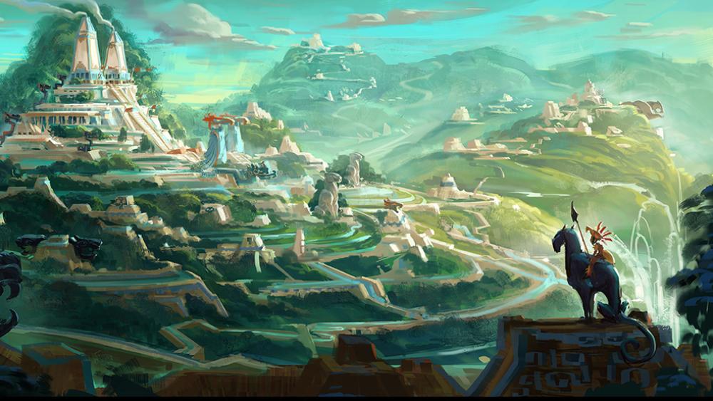 """Resultado de imagem para Maya and the Three"""""""