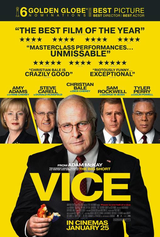 Resultado de imagem para Vice Adam Mckay poster
