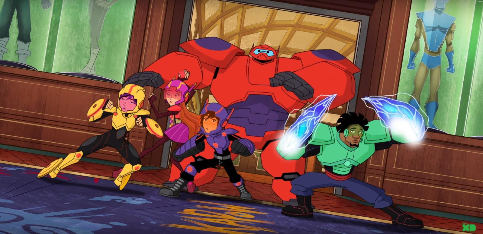 Série de Operação Big Hero é renovada para 3ª temporada