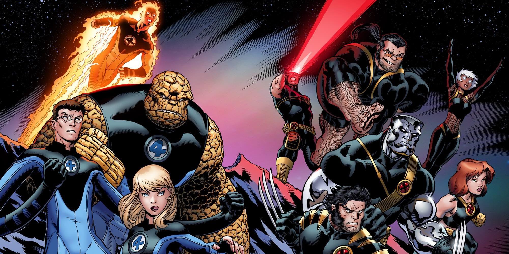 X-Men e Quarteto Fantastico