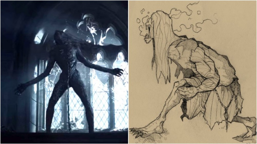 See how the monsters of The Witcher really should be