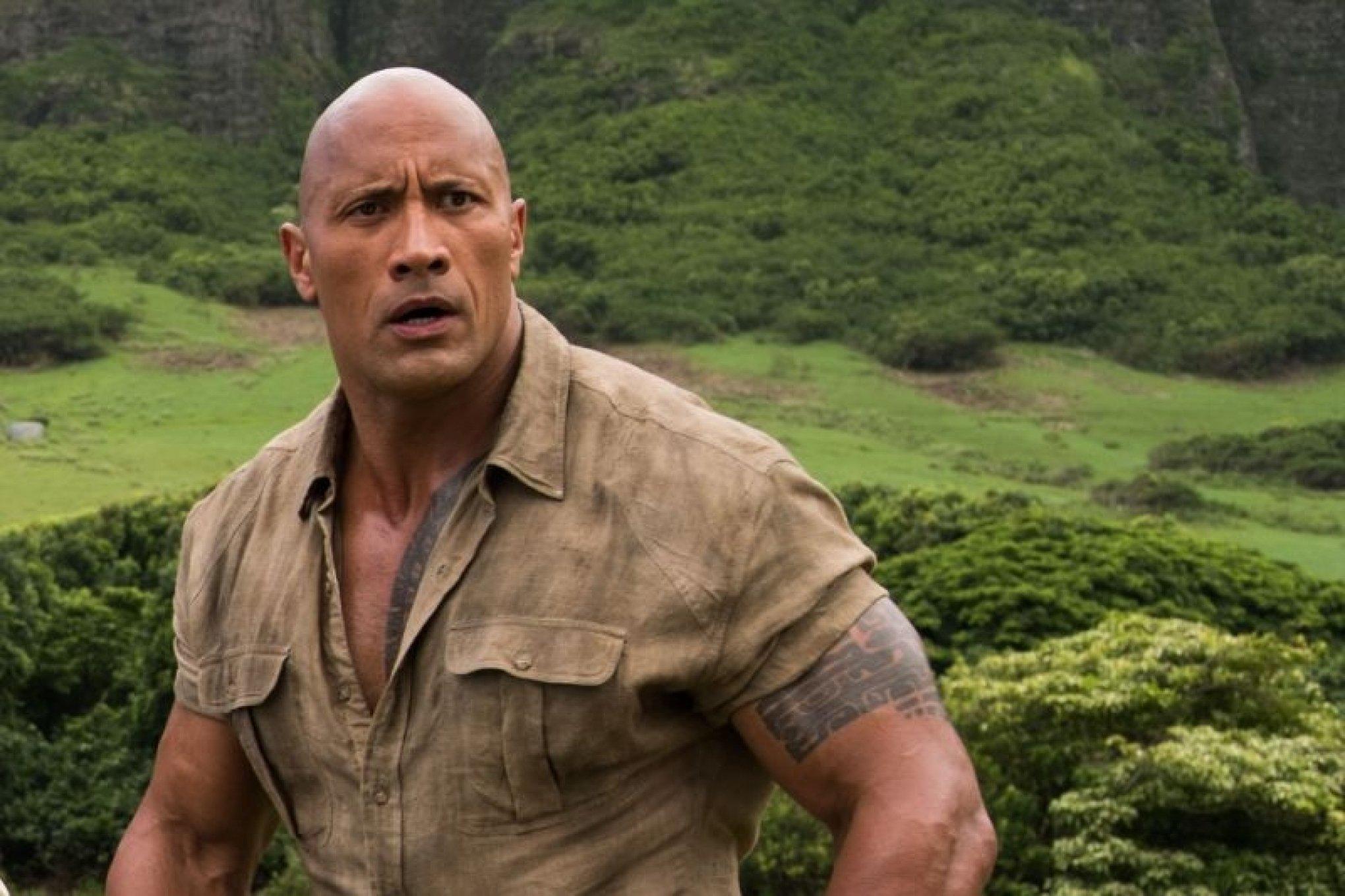 Dwayne Johnson empolga com declaração após rodar filme mais caro da Netflix