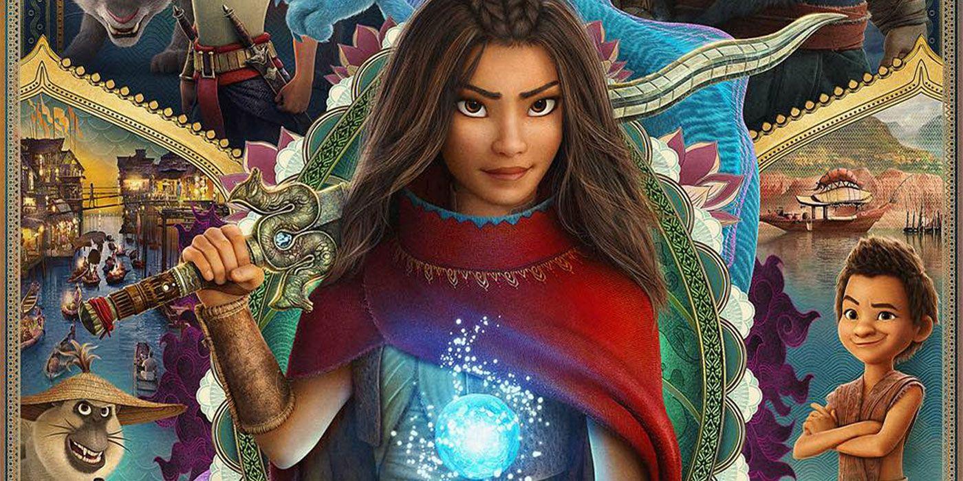 Raya e o Último Dragão traz grande mudança para princesas da Disney