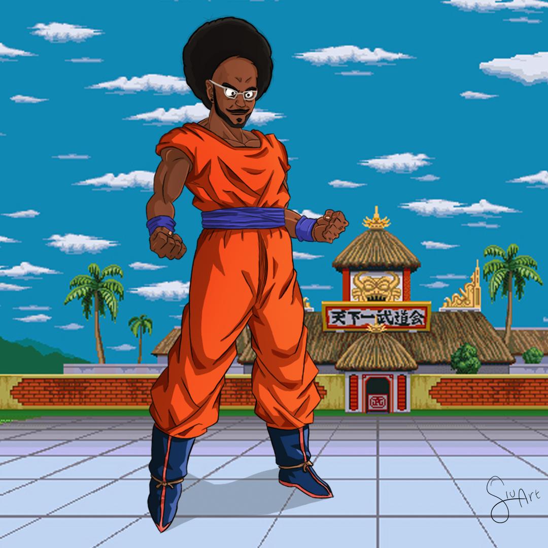 João BBB 21 - Dragon Ball