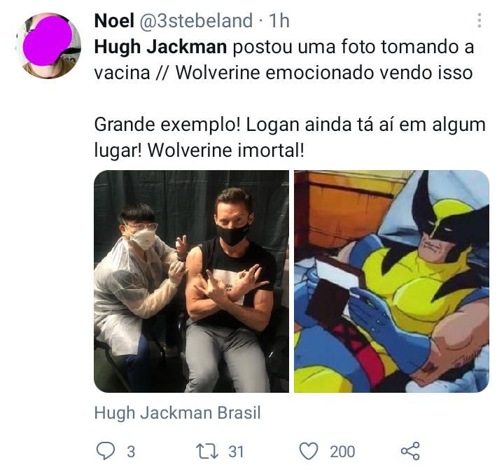 Hugh Jackman - Twitter