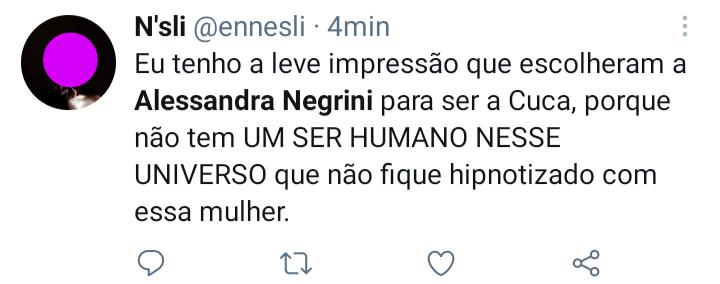 Alessandra Negrini - Reações