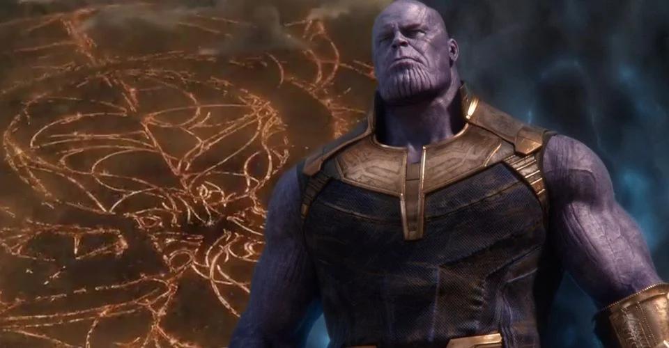 Liga da Justiça de Zack Snyder Cut; Darkseid; Vingadores Thanos;