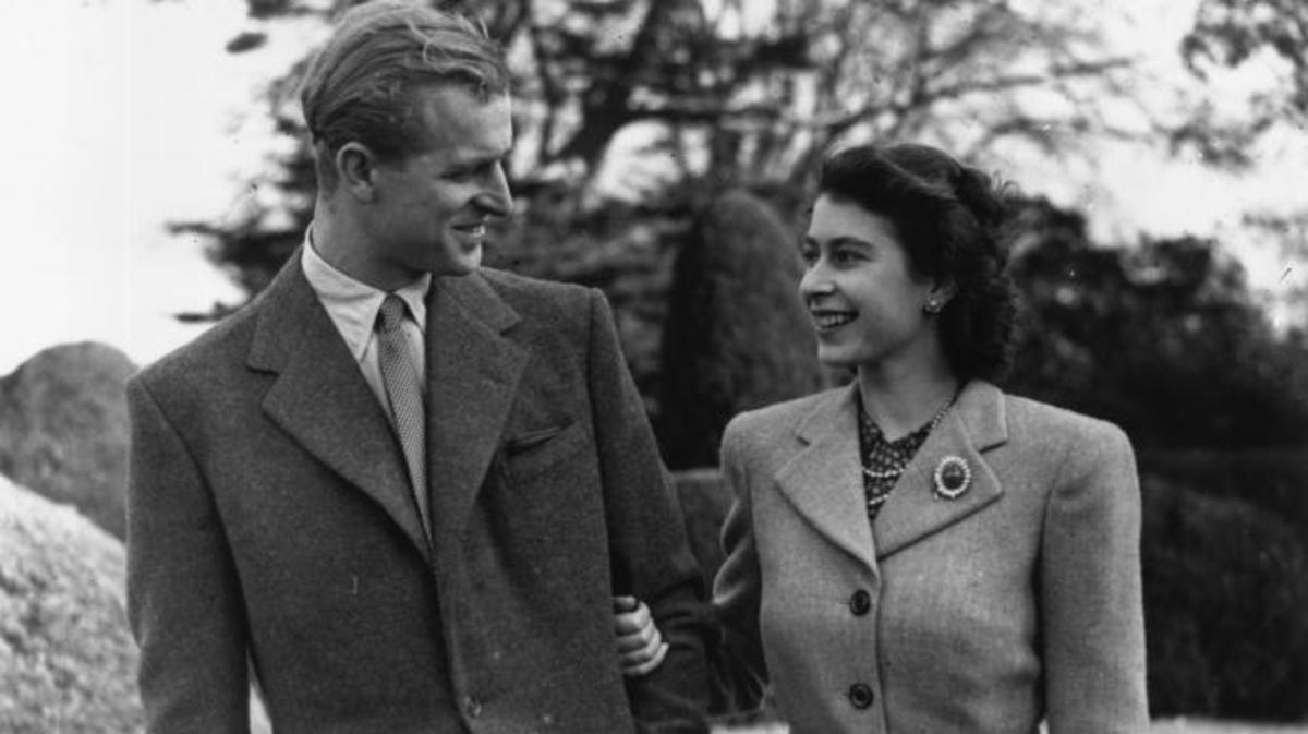 Príncipe Philip e Rainha Elizabeth