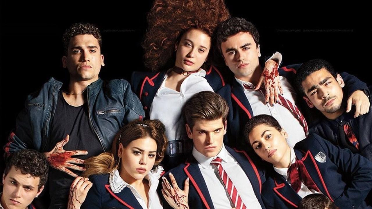 Elite na Netflix espanhol revista quero