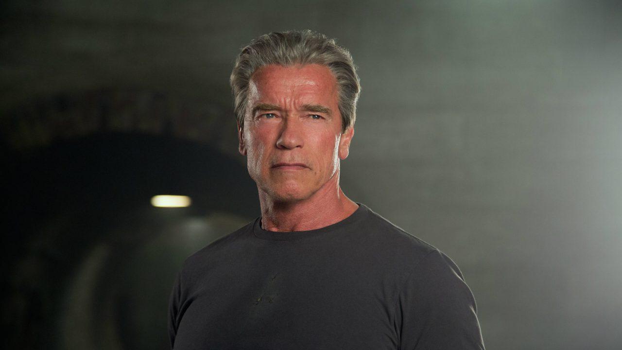 Filho de Schwarzenegger tira a camisa e mostra transformação; veja