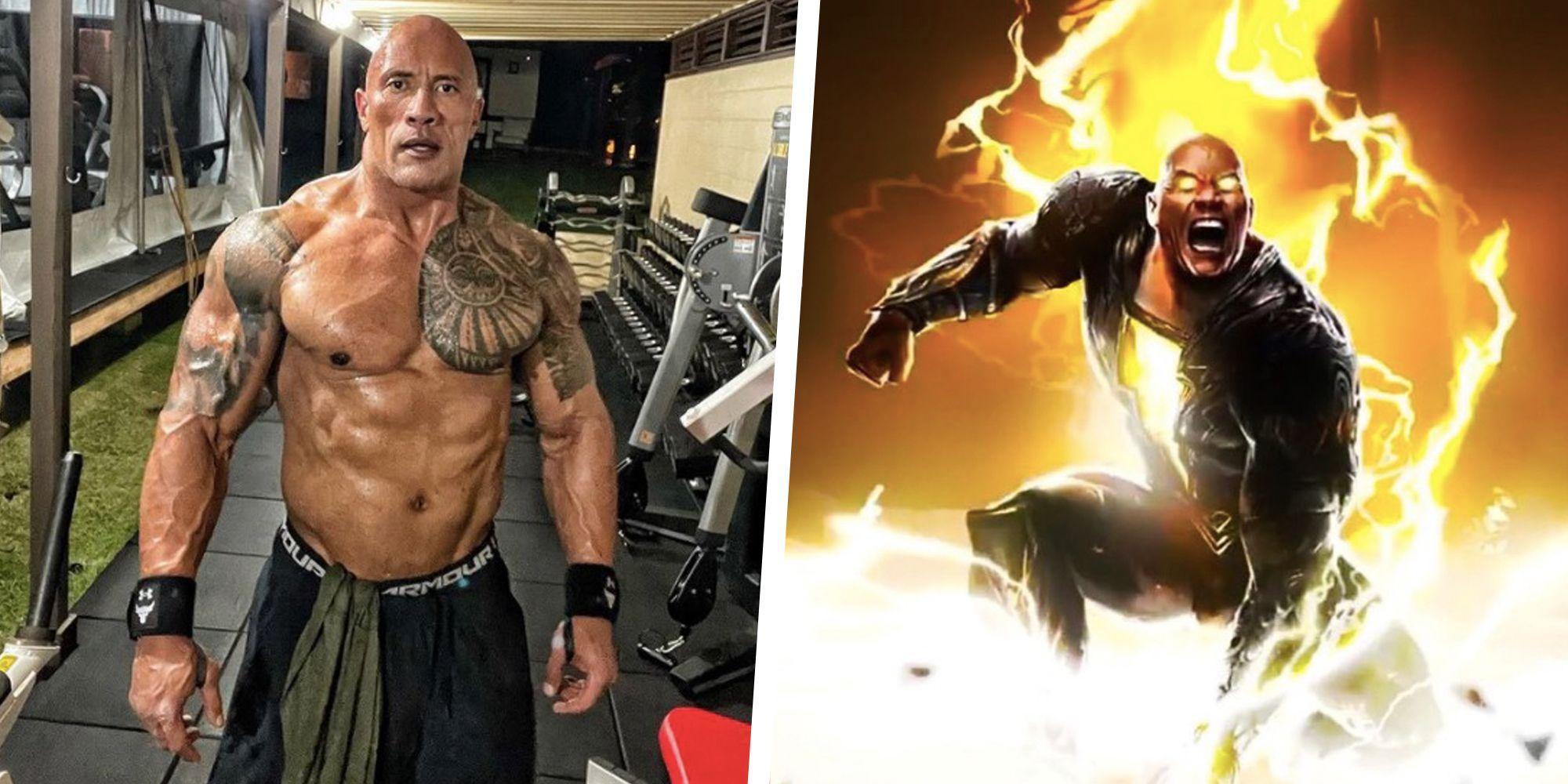 Dwayne 'The Rock' Johnson; Adão Negro; Marvel; Kevin Feige