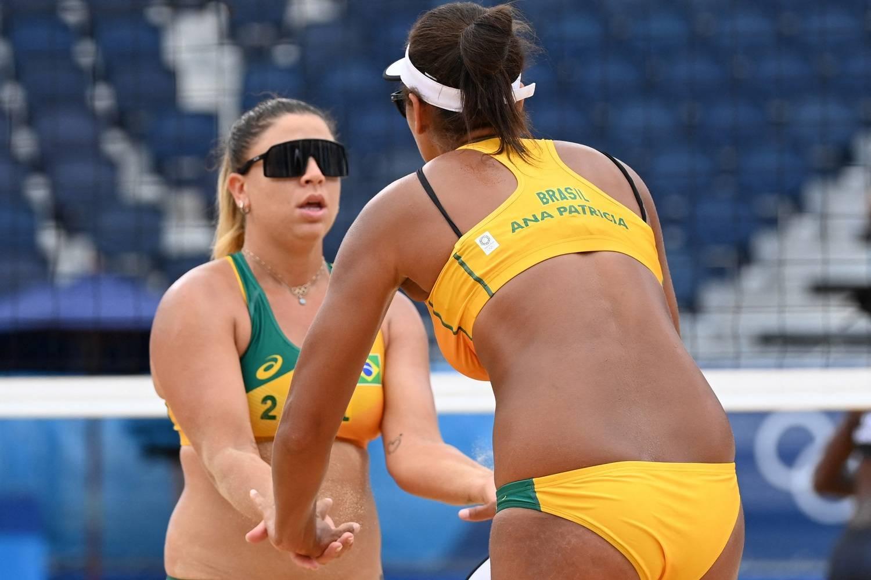 Brasil x Suíça: Onde assistir jogo de vôlei de praia feminino nesta segunda