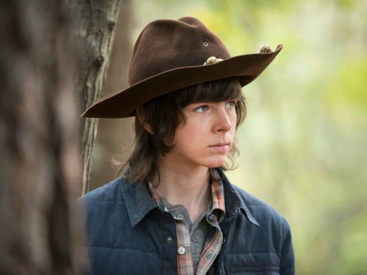 O que aconteceu com Chandler Riggs, o Carl, após deixar The Walking Dead