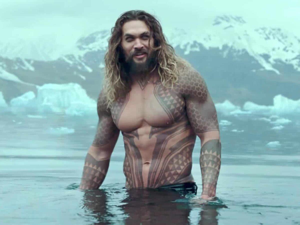Ex da esposa de Jason Momoa, Lenny Kravitz parabeniza ator de Aquaman