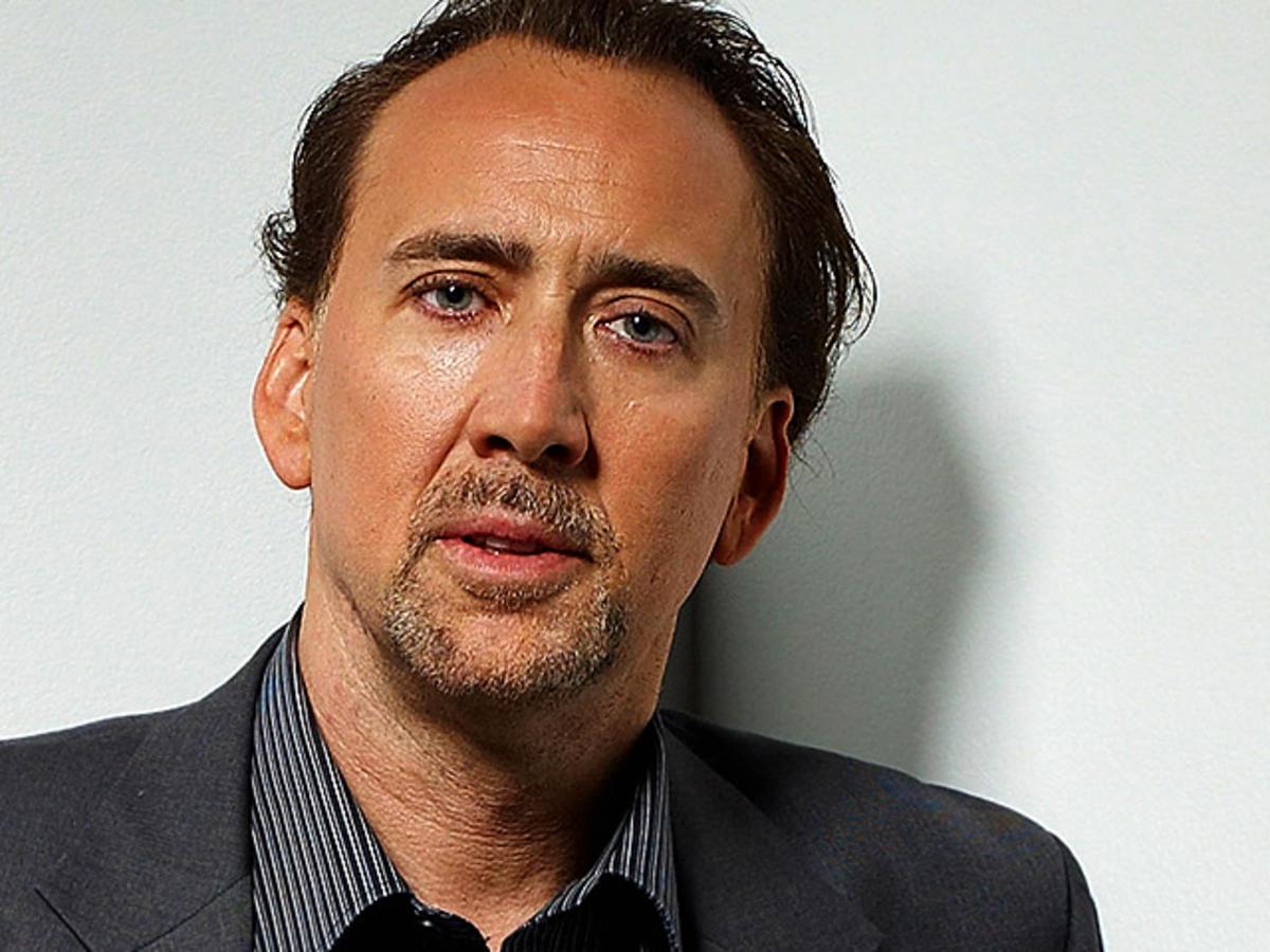 Nicolas Cage aparece careca para estrelar novo filme