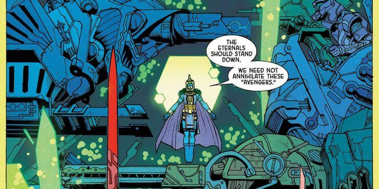 Eternals Avengers Vision Art NEWS