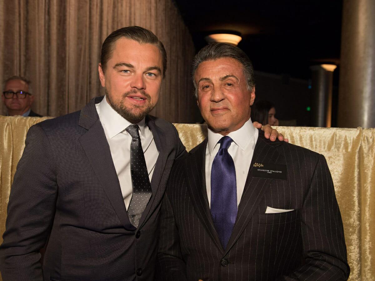 Stallone foi usado como desculpa para Leonardo DiCaprio não estrelar clássico